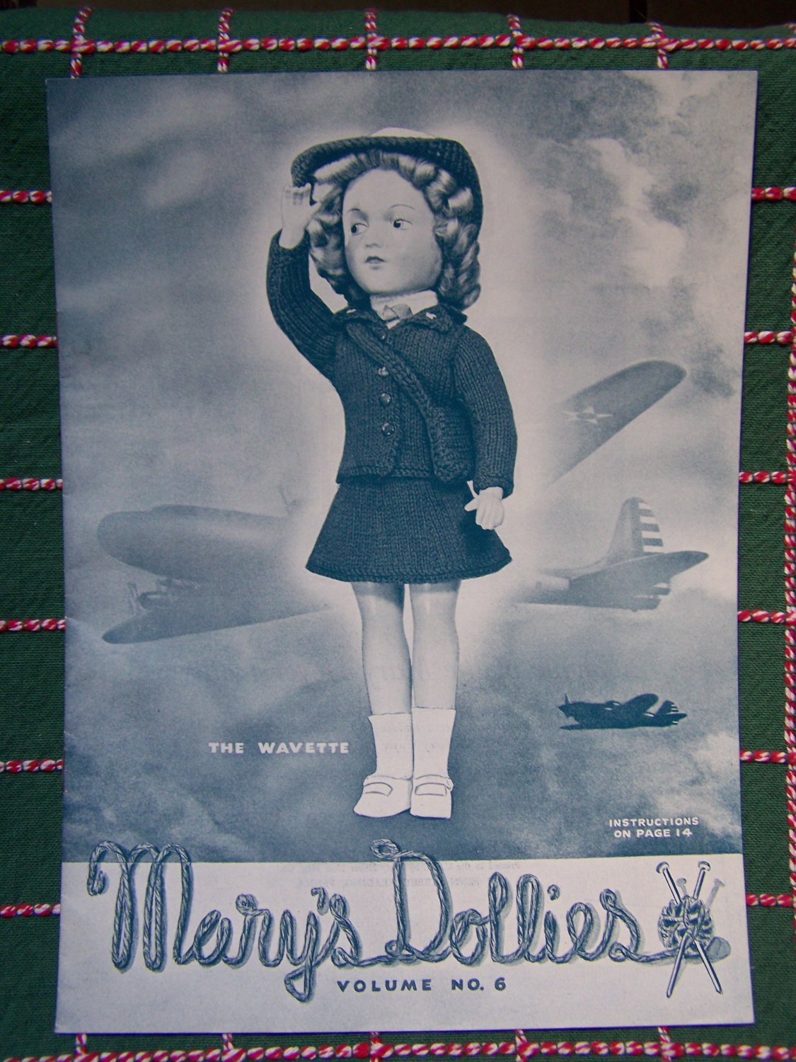 Vintage 1951 Mary's Dollies Knitting Patterns Volume 6 Mary Hoyer Dolls