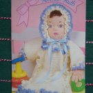 Free USA S&H Vintage Annies Crochet Doll Pattern Rebekah Ruth W/ Dress & Bonnet 87B57