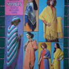 1970's Hippie Knitting & Crochet Patterns Shawls Wraps Jackets