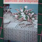 Vintage Bedspreads and Tablecloths Lily Designs Crochet Pattern Book 207