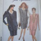 0 S&H USA Uncut Vintage Maternity Sewing Pattern 8926 Misses 16 Jumper Dress Blouse