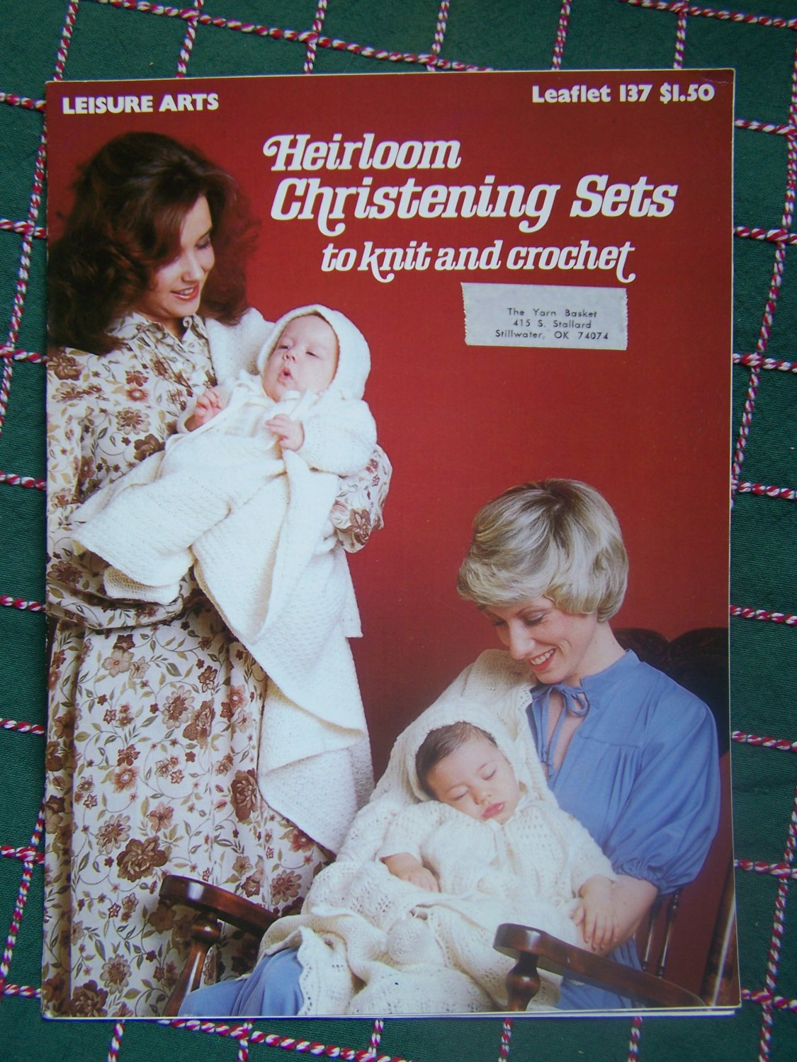 Vintage Knitting & Crochet Patterns Heirloom Christening Sets NB - 3M # 137