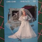 Vintage New All For Dolls Coats & Clarks Crochet Pattern Book 270 Barbie 11.5 & Baby Doll 13""
