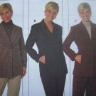 New Sewing Pattern 7906 Plus 18 20 22 Jackets Single Double Breasted Notched or Shawl Collar