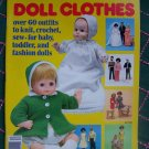 "Vintage McCall's Doll CLothing Patterns Barbie 11 1/2"" & 15 - 17"" Baby Dolls"