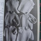 Vintage Beehive Knitting Patterns Childrens 1 2 3 4 6 Sweaters Raglan Cardigan Pullovers Leggings