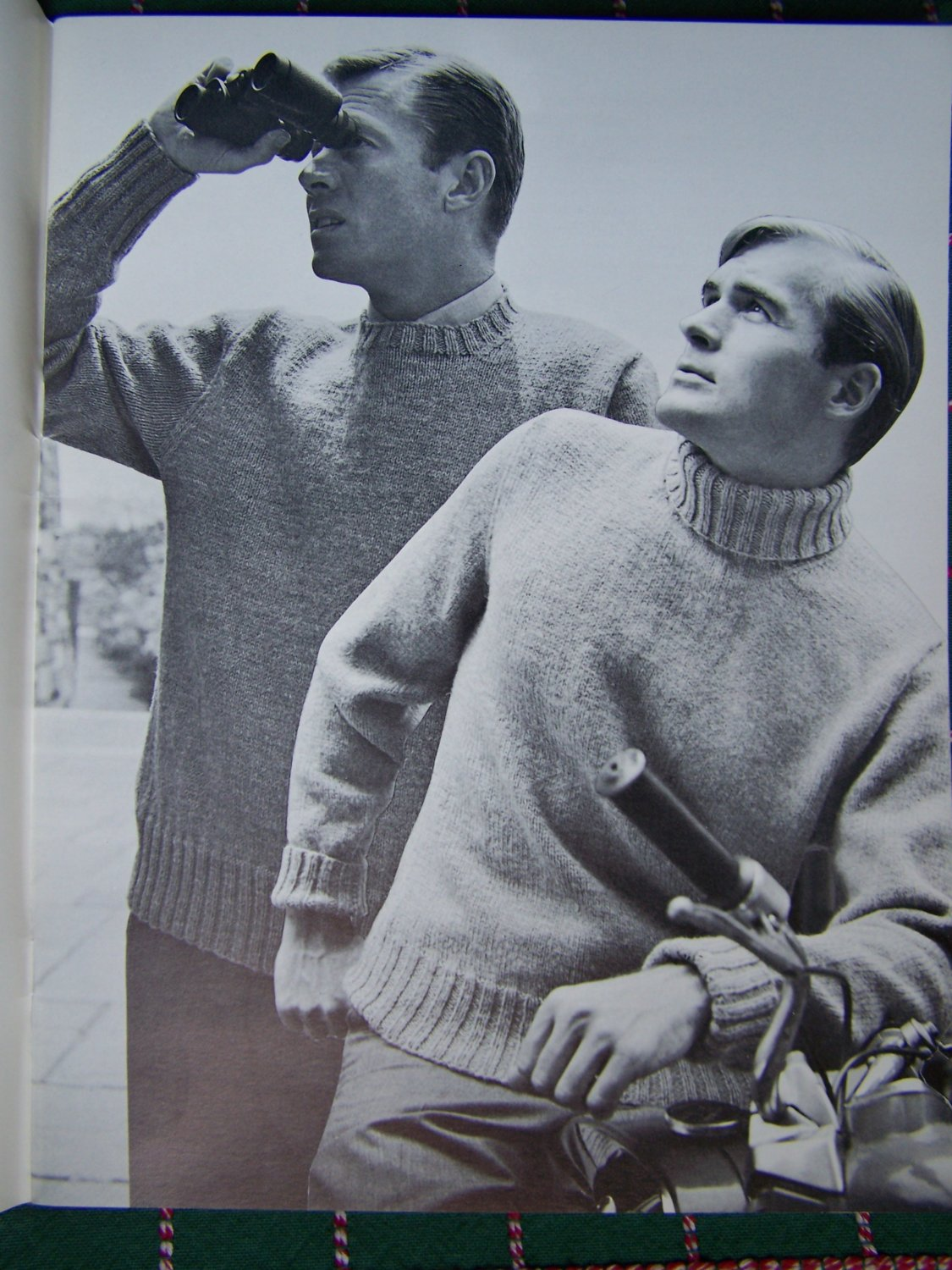 21 Mens 1960's Knitting Patterns Classic Sweaters Pullovers Vests Cardigans Rat Pack Styles