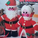 USA Free S&H Vintage 1970's Santa & Mrs Claus Crochet Patterns Stuffed Dolls Booklet 3