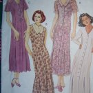 S&H Free USA New Sewing Pattern 6993 Princess Seam Dress Invrted Hem Pleats 14 16 18