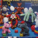 USA Free S&H Vintage Crochet Stuffed Animals Patterns