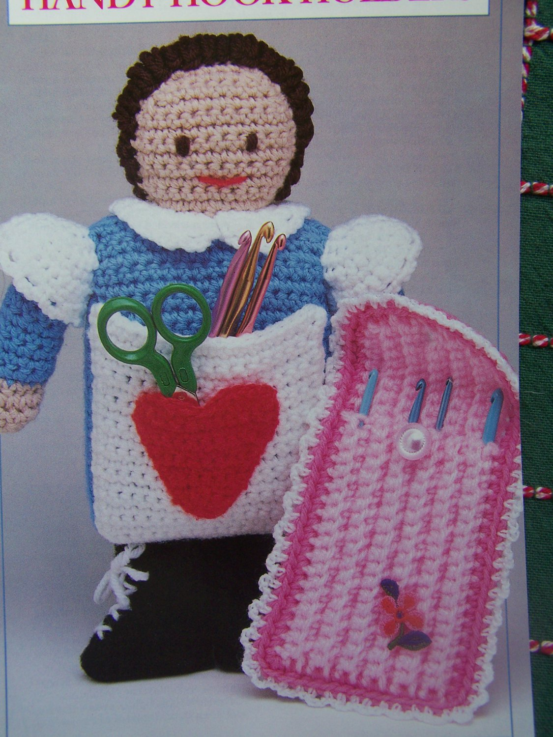 Annies Attic Crochet Patterns : Annies Attic Handy Crochet Hook Holders Patterns Doll and Travel Case