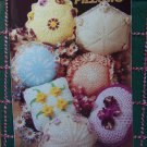 Annie's Attic Pattern Club 7 Crocheted Doily Pillow Patterns 87P40
