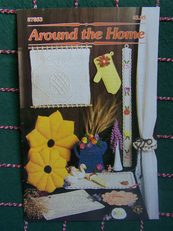 Annie's Pattern Club Book 87S53 Around the house