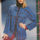 Men's & Women's Crochet & Knit Patterns Sweaters Jackets Tunic Top Blouse XL XXL XXXL