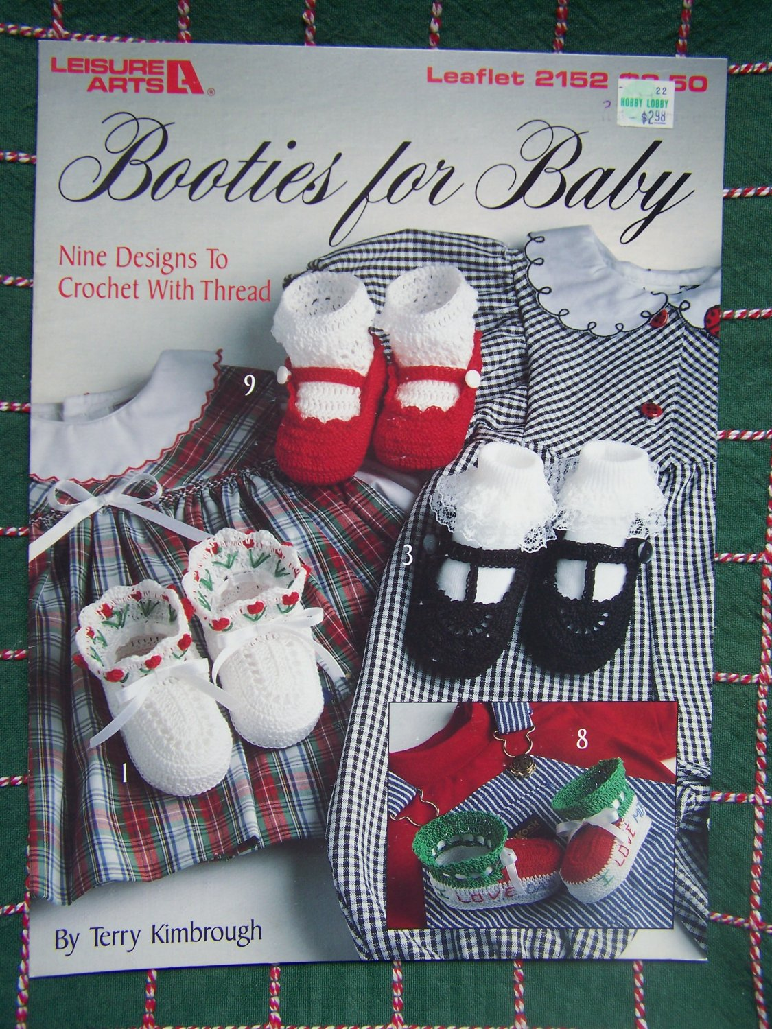 9 New Booties For Baby Thread Crochet Patterns 2152