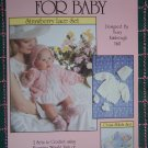 New Vintage Crochet Patterns For Baby Sacque Jacket Bonnet Booties NB 3 4 6 Months 630