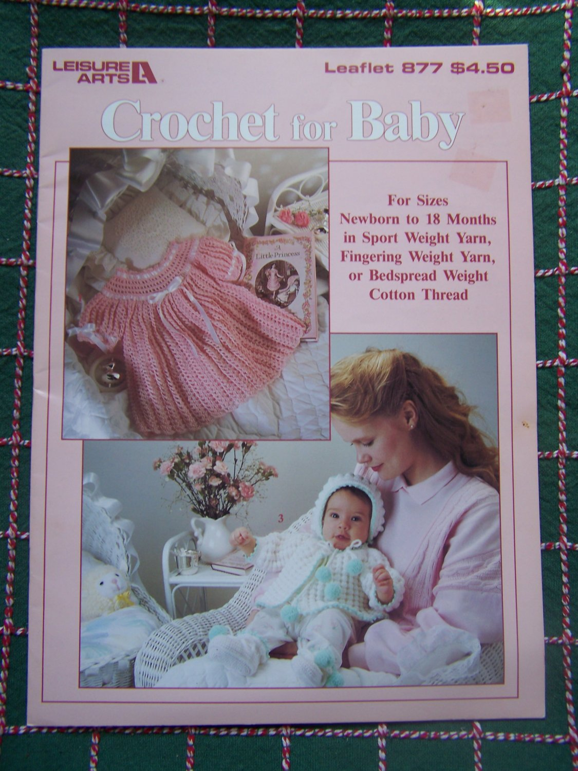 Vintage Crochet Patterns For Baby NB - 18M Layette Puff & Fan Shell Sets