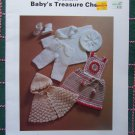 Vintage Baby Crochet Patterns Christening Gown & Suit Hoodie Cape Lacy Dress Jumper SUndress # 7