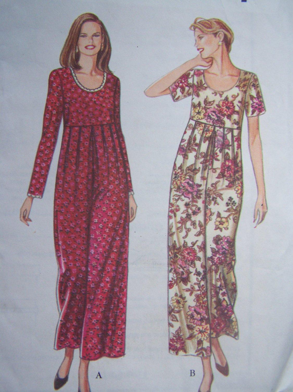 Easy Uncut Sewing Pattern 9159 Misses Jumpsuit Raised Pleated Waist Wide Leg 8 - 18