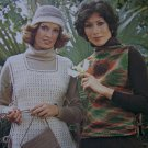Vintage Brunswick Knitting & Crochet Patterns Womens & Childs Tabards & Tunics Sizes 4 - 44