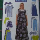 Uncut Womens 28 20 32W Sewing Pattern 5058 Dress Jumper Top Tunic Shorts Pants Wardrobe