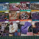 12  Afghan Crochet Patterns Collector Series Needlecraft Shop Lot Binder