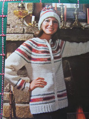 Crochet patterns for crochet sweaters, baby hats, scarves, shawls