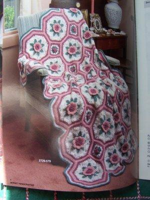 8 Vintage Crochet & Knitting Afghan Patterns American Heirlooms