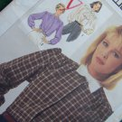 Uncut Vintage Sewing Pattern 7172 Misses 14 16 18 Long Sleeve Blouse Jabot Collar