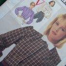 Uncut Vintage Sewing Pattern 7172 Misses 14 16 18 Long Sleeve Blouse Jabot Collar