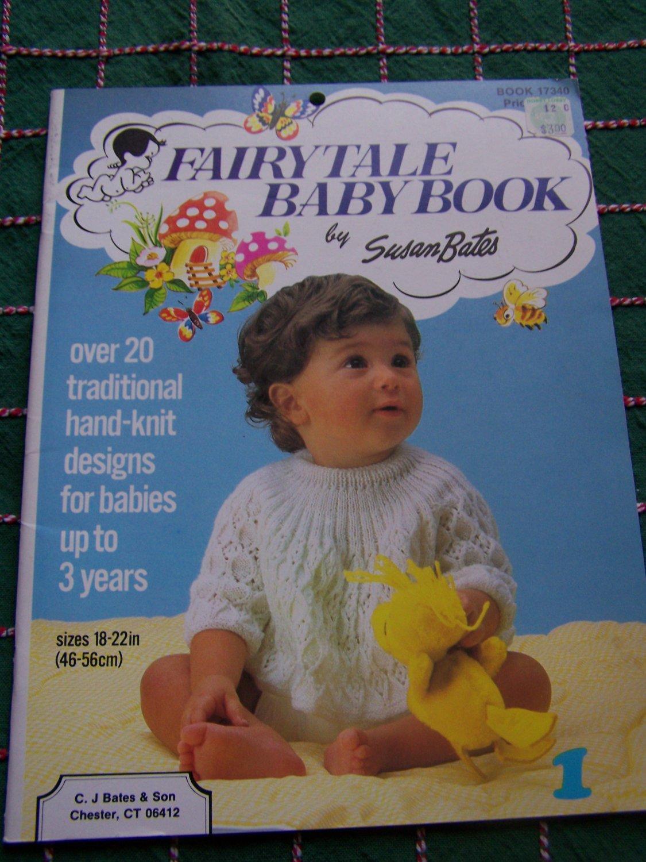 Susan Bates Baby Knitting Patterns Sizes Newborn to 3 years Book 17340