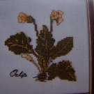 New Oxlip Floral Cross Stitch Craft Kit Elizabeth Stuart Designs 202