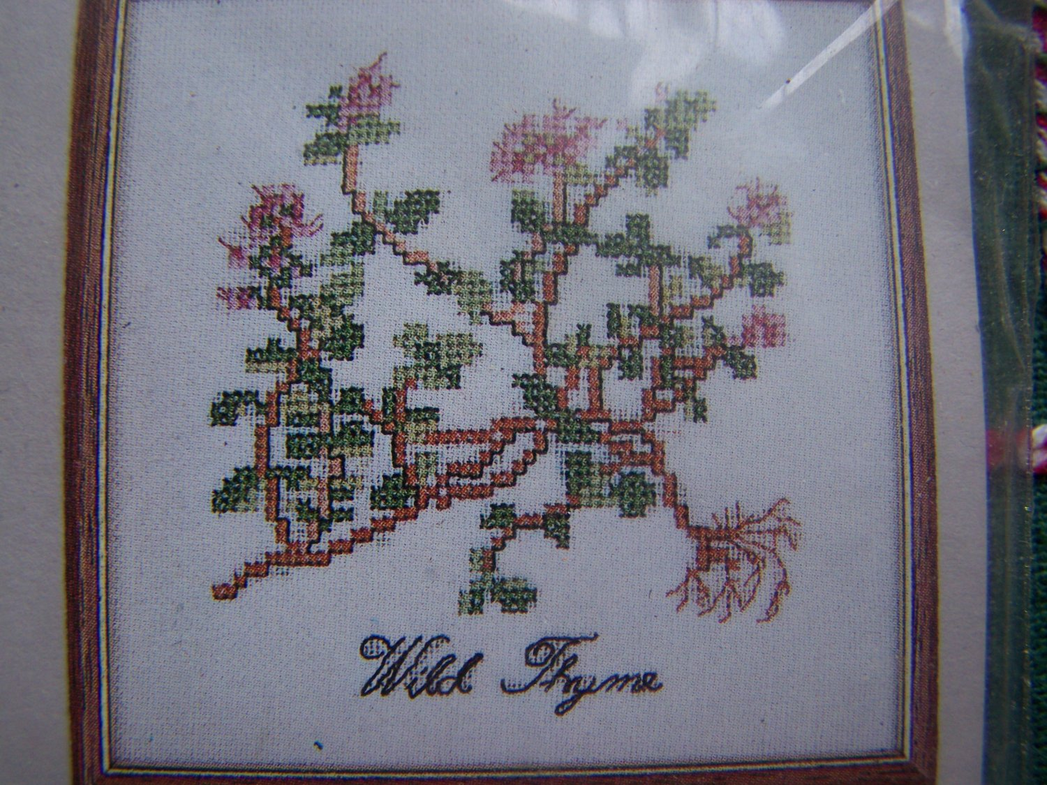 New Cross Stitch Embroidery Craft Kit Wild Thyme Elizabeth Stuart 204