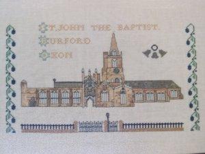 Vintage Jane Greenoff Design # 4 Inglestone Cross Stitch Embroidery Patterns