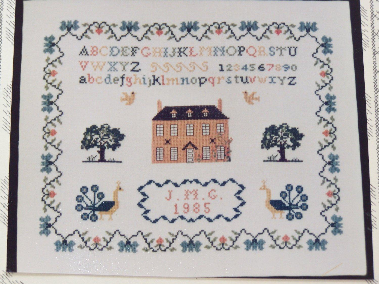 Vintage Inglestone Cross Stitch Sampler Pattern # 16 Jane Greenoff