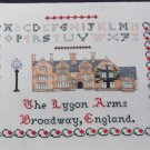 Vintage Jane Greenoff Inglestone Collection Cross Stitch Pattern 22 Lygon Arms England