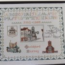 Vintage Guildford Surrey Sampler Map Cross Stitch Pattern # 27 Inglestone