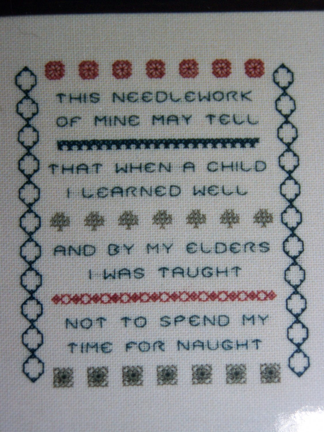 New Something Different Counted Cross Stitch Craft Kit This Needlework of Mine May Tell ...