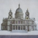 New St Pauls Cathedral Cross Stitch Embroidery Craft Kit 9510 Elizabeth Stuart