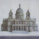 New St Pauls Cathedral Cross Stitch Embroidery Craft Kit 9510 Elizabeth Stuart