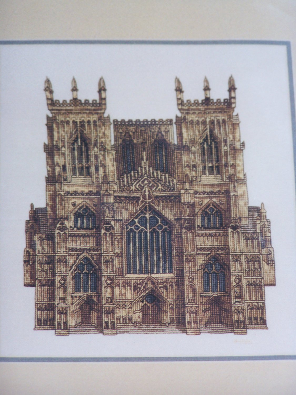 York Minster Cross Stitch Embroidery Craft Kit 9114 Elizabeth Stuart