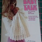 Vintage Baby Talk Crochet & Knit Patterns Book 4 Layette Cape Afghan Jacket Hat Booties