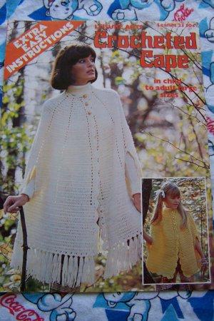Crochet Cape Pattern | eBay