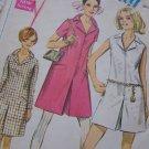 Vintage Uncut Sewing Pattern 7581 Misses Pantdress One Piece Romper Bust 34