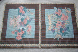 New Decorator Fabric Floral Pillow Panels