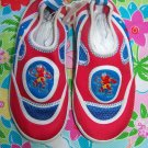 New Sesame Street Elmo Water Beach Shoes Children's XL size 12 Boys Girls