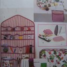 Uncut Butterick Pattern 4521 Sewing Accessories Wall Organizer Ironing Board Cover Pin cushion ++