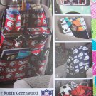 Uncut Simplicity Sewing Pattern 3731 Car Organizers Back of Seat visor Map Folder Trunk Trash Bag