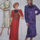 Uncut Butterick Vintage Sewing Pattern 4187 Loose Straight Dress 14 16 18