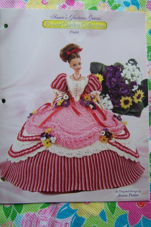 Flower Garden Collection Annies Attic Crochet Doll Pattern Violet